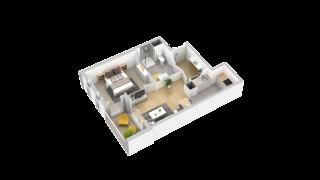 appartement 101 de type T2