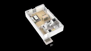appartement 104 de type T1