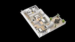 appartement 106 de type T3