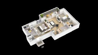 appartement 113 de type T3