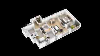 appartement 114 de type T3