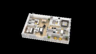appartement 116 de type T4