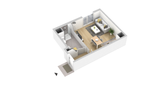 appartement 133 de type T1