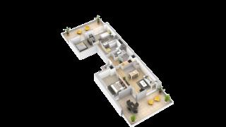 appartement 201 de type T4