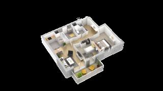 appartement 202 de type T3