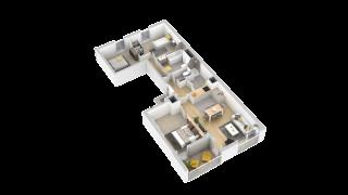 appartement 211 de type T4