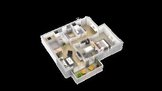 appartement 212 de type T3