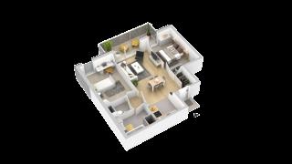 appartement 213 de type T3