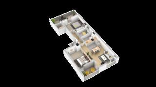 appartement 251 de type T3