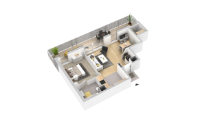 appartement 253 de type T2