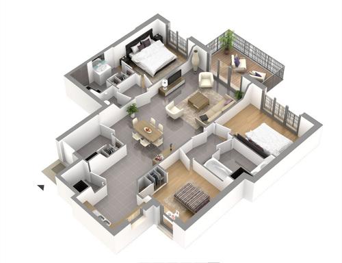 plan appartement cogedim