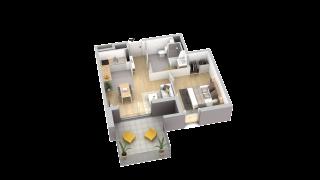 appartement A901 de type T2