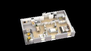 appartement A902 de type T3