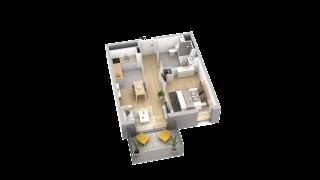appartement A004 de type T2