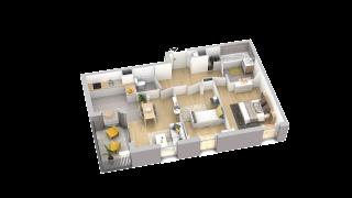 appartement A005 de type T3