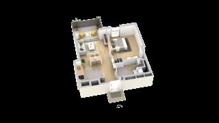 appartement A007 de type T2
