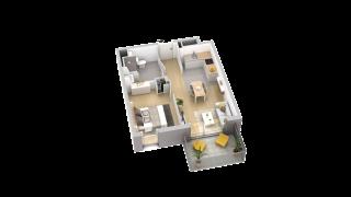 appartement A104 de type T2