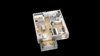 appartement A105 de type T2