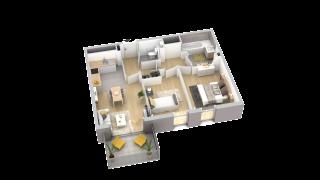 appartement A204 de type T3