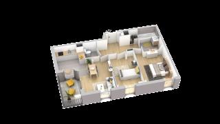 appartement A205 de type T3