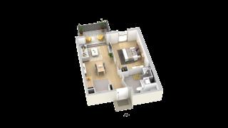 appartement A302 de type T2