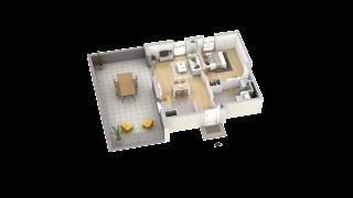 appartement A306 de type T2