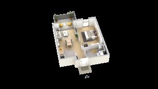 appartement A401 de type T2