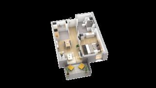 appartement A403 de type T2