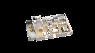 appartement A405 de type T3