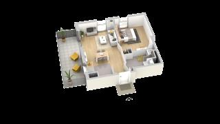 appartement A406 de type T2