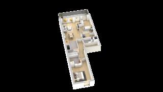 appartement B002 de type T3