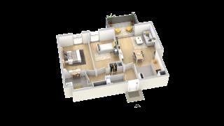 appartement B101 de type T3