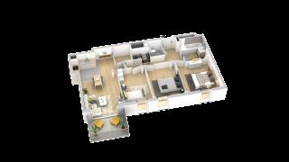 appartement B104 de type T4