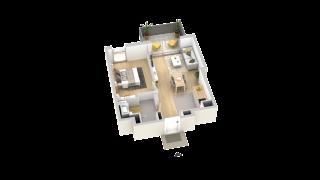 appartement B107 de type T2