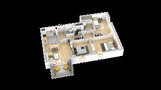 appartement B203 de type T4