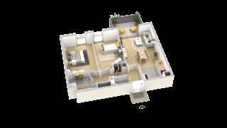 appartement B301 de type T3