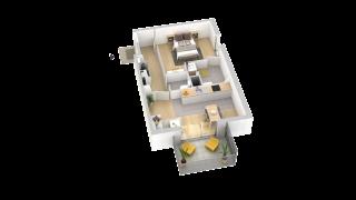 appartement B303 de type T2
