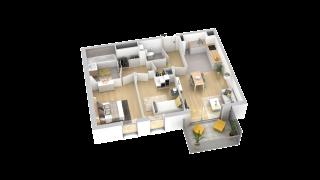 appartement B307 de type T3