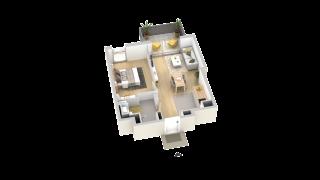 appartement B309 de type T2