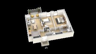 appartement B402 de type T3