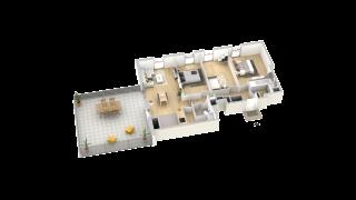 appartement B408 de type T4